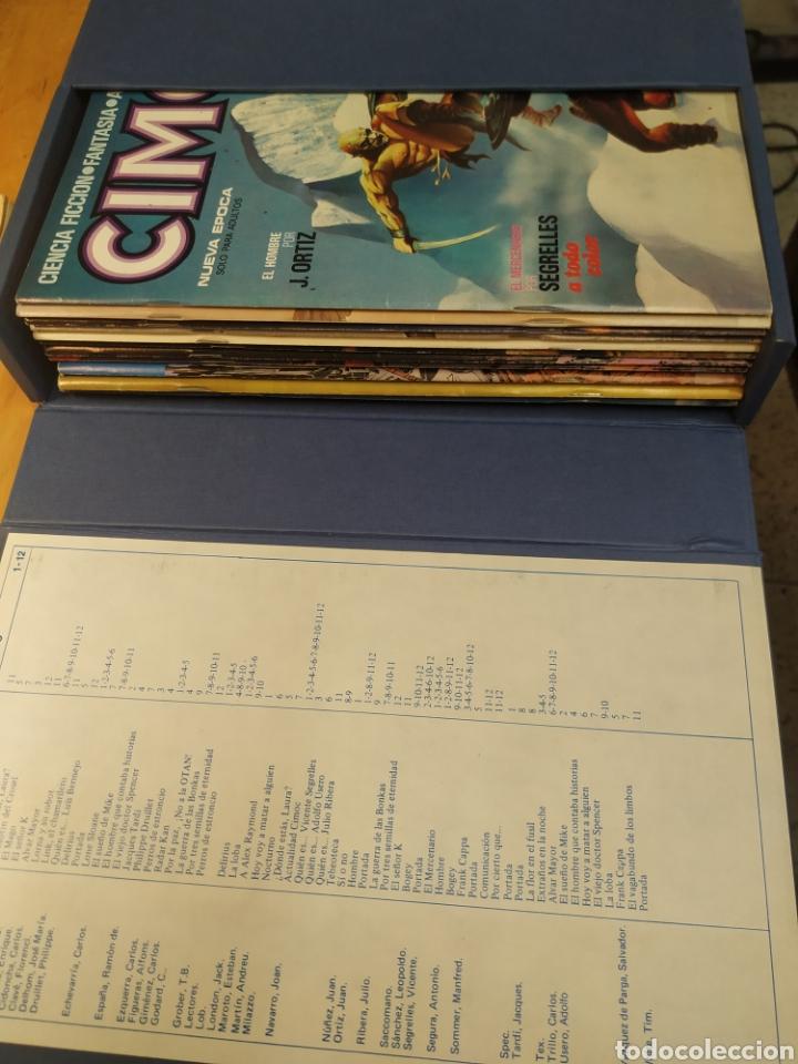 Cómics: CIMOC 1a edición en carpetas de 12 tomos. Del No 1 al 60 - Foto 2 - 210784436