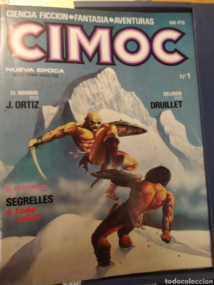 Cómics: CIMOC 1a edición en carpetas de 12 tomos. Del No 1 al 60 - Foto 3 - 210784436