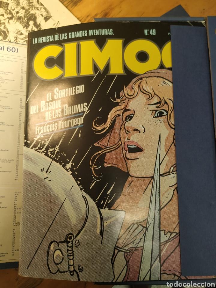 Cómics: CIMOC 1a edición en carpetas de 12 tomos. Del No 1 al 60 - Foto 6 - 210784436