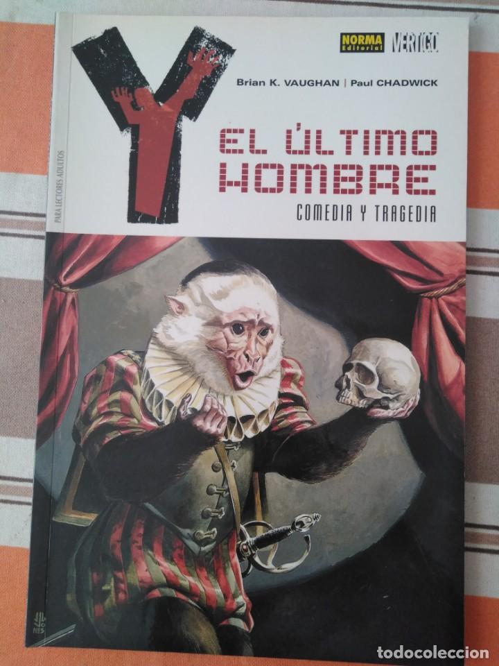 EL ULTIMO HOMBRE - COMEDIA Y TRAGEDIA - COMIC (Tebeos y Comics - Norma - Comic USA)