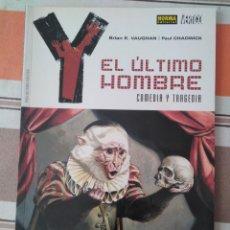 Cómics: EL ULTIMO HOMBRE - COMEDIA Y TRAGEDIA - COMIC. Lote 210788875