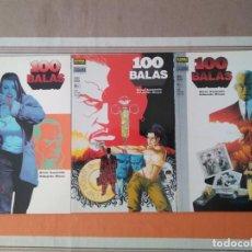 Cómics: 100 BALAS - PRIMER DISPARO + PARLEZ KUNG VOUS - COMIC - VERTIGO NORMA. Lote 210789174