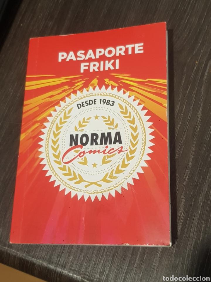 PASAPORT FRIKI NORMA COMICS (Tebeos y Comics - Norma - Otros)