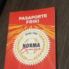 Cómics: PASAPORT FRIKI NORMA COMICS. Lote 210954921