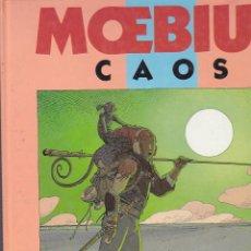 Cómics: CAOS MOEBIUS 1ª EDICION 1991 NORMA EDITORIAL. Lote 211407004