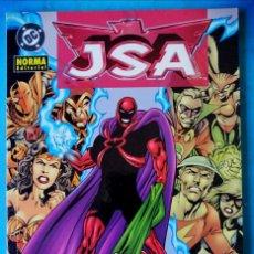 Cómics: JSA - LA CAZA DE EXTANT ( GOYER GEOFF JOHNS ) NORMA DC ''MUY BUEN ESTADO''. Lote 211415209