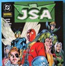 Cómics: JSA - LA SOCIEDAD DE LA INJUSTICIA (GOYER, JOHNS,M SADOWSKI, YEOWELL) NORMA. Lote 211416770