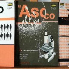 Cómics: EL ASCO - 3 TOMOS - OBRA COMPLETA. Lote 211416775