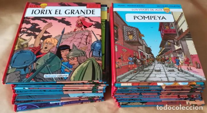 ALIX NETCOM2 - LOTE 19 TOMOS Nº 1-2-3-4-5-6-7-8-9-10-15-16-17-18-21-22-26-27+VIAJE DE ALIX (Tebeos y Comics - Norma - Comic Europeo)