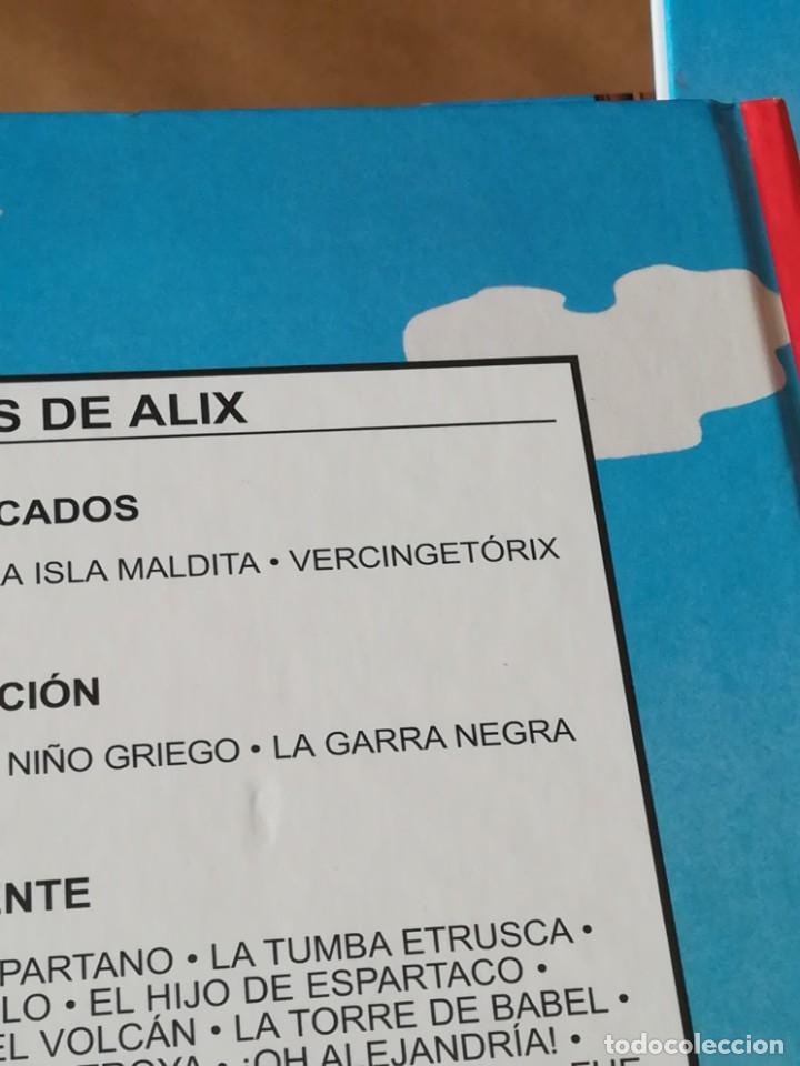 Cómics: ALIX NETCOM2 - LOTE 19 TOMOS Nº 1-2-3-4-5-6-7-8-9-10-15-16-17-18-21-22-26-27+Viaje de Alix - Foto 6 - 211423820