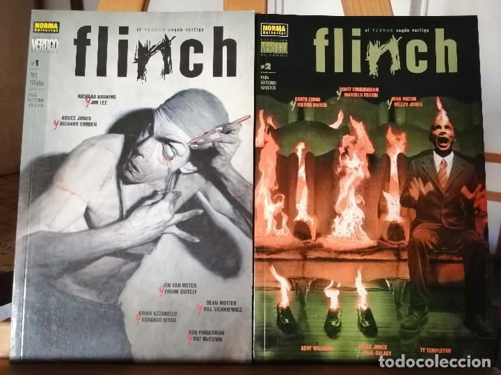 FLINCH - EL TERROR SEGÚN VÉRTIGO. TOMOS 1 Y 2. (Tebeos y Comics - Norma - Comic USA)
