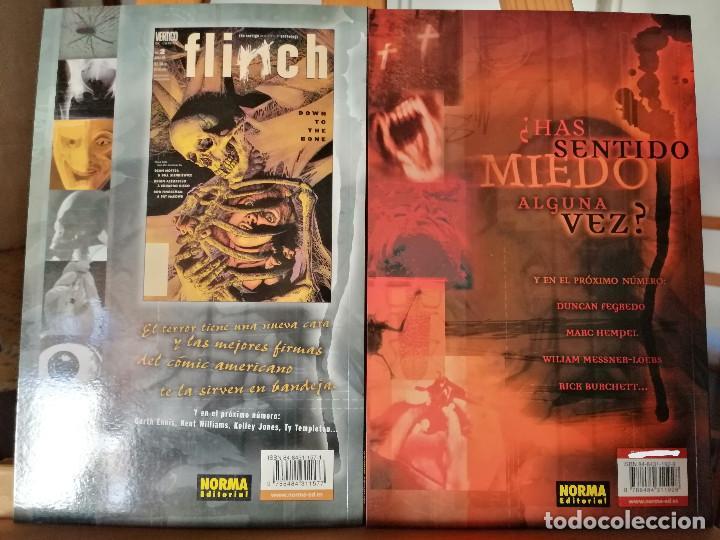 Cómics: FLINCH - EL TERROR SEGÚN VÉRTIGO. TOMOS 1 Y 2. - Foto 2 - 211427065