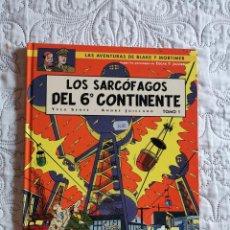 Cómics: LAS AVENTURAS DE BLAKE Y MORTIMER - LOS SARCOFAGOS DEL 6 CONTINENTE - TOMO -1 N. 16. Lote 211427495