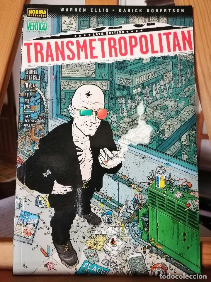 TRANSMETROPOLITAN NÚM 1. (Tebeos y Comics - Norma - Comic USA)