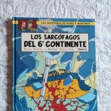 Cómics: LAS AVENTURAS DE BLAKE Y MORTIMER - LOS SARCOFAGOS DEL 6 CONTINENTE - TOMO -2 N. 17. Lote 211427581
