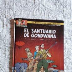 Fumetti: LAS AVENTURAS DE BLAKE Y MORTIMER - EL SANTUARIO DE GONDWANA N. 18. Lote 211427735