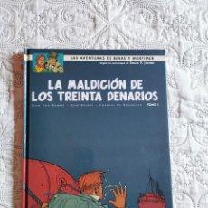Cómics: LAS AVENTURAS DE BLAKE Y MORTIMER - LA MALDICION DE LOS TREINTA DENARIOS - TOMO - 1 N. 19. Lote 211427950