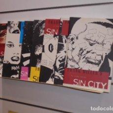 Cómics: SIN CITY COMPLETA 7 TOMOS FRANK MILLER - NORMA. Lote 211428580