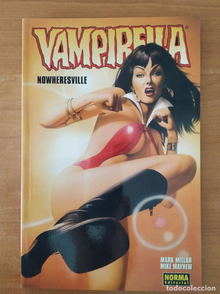 VAMPIRELLA. NOWHERESVILLE. MARK MILLAR. MIKE MAYHEW. NORMA EDITORIAL 2004. (Tebeos y Comics - Norma - Comic USA)