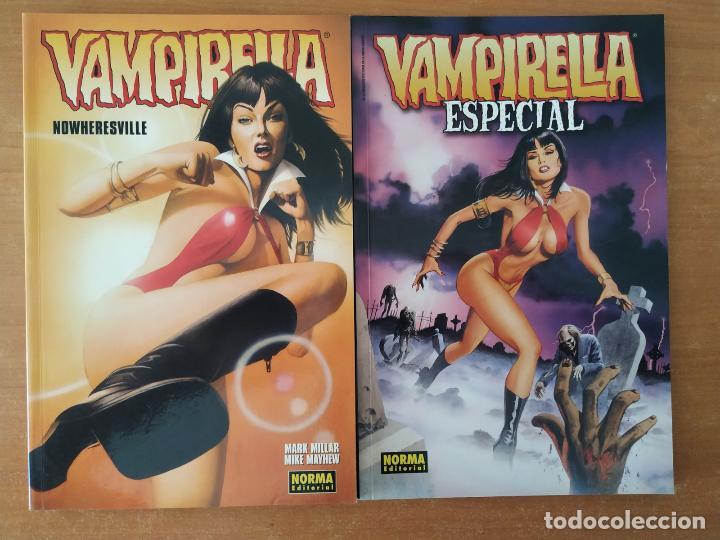 LOTE VAMPIRELLA. NOWHERESVILLE. ESPECIAL. NORMA EDITORIAL. (Tebeos y Comics - Norma - Comic USA)