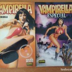Cómics: LOTE VAMPIRELLA. NOWHERESVILLE. ESPECIAL. NORMA EDITORIAL.. Lote 211459010