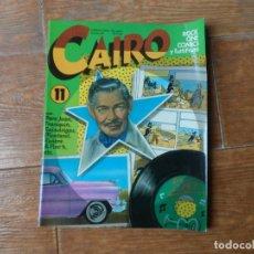 Cómics: CAIRO Nº 11 EDITORIAL NORMA 1988. Lote 211483890