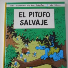 Cómics: EL PITUFO SALVAJE. UNA AVENTURA DE LOS PITUFOS. DE PEYO. NORMA EDITORIAL. TAPA DURA. COLOR. 1ª EDICI. Lote 211529924
