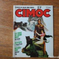 Cómics: CIMOC Nº 57 ED.NORMA. Lote 211586115