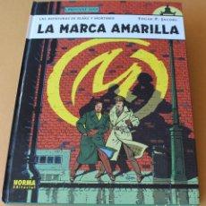Cómics: BLAKE Y MORTIMER 3 LA MARCA AMARILLA - NORMA, CARTONÉ, 1ª ED AÑO 2000 GRÁN FORMATO - MUY BUEN ESTADO. Lote 211631187