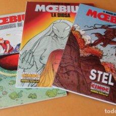 Cómics: MOEBIUS EL MUNDO DE EDENA – COMPLETA CIMOC EXTRA COLOR - 70 LOS JARDINES 76 77 LA DIOSA 110 STEL. Lote 211631836