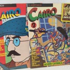 Cómics: CAIRO NUMS 1 Y 2 PERFECTO ESTADO. Lote 211702138