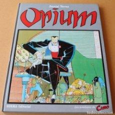 Cómics: DANIEL TORRES – LAS AVENTURAS DE CAIRO: 2 OPIUM - NORMA, 1ª EDICIÓN, 1983, CARTONÉ - MUY BUEN ESTADO. Lote 211749258
