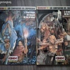 Comics : LOS COMPAÑEROS DEL CREPUSCULO 1 Y 3 DE BOURGEON. COLECCION CIMOC EXTRA COLOR 60 Y 66. Lote 211891003