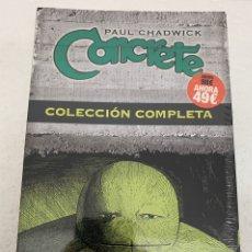 Cómics: CONCRETE COMICS PACK OFERTA 7 TOMOS NORMA PAUL CHADWICK COLECCIÓN COMPLETA. Lote 212112413
