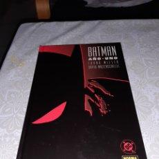 Cómics: BATMAN AÑO UNO MILLER MAZZUCCHELLI NORMA EDITORIAL. Lote 212217296