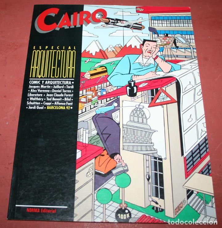 CAIRO ESPECIAL ARQUITECTURA - NORMA EDITORIAL - 1984 (Tebeos y Comics - Norma - Cairo)