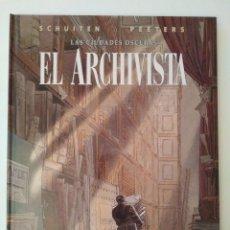 Cómics: EL ARCHIVISTA / SCHUITEN Y PEETERS. BARCELONA: NORMA EDITORIAL, 2001. Lote 212575722