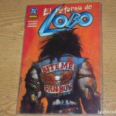 Comics : NORMA PRESTIGE EL RETORNO DE LOBO. Lote 212707011