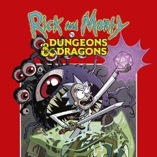 Cómics: CÓMICS. RICK Y MORTY VS DUNGEONS & DRAGONS - PATRICK ROTHFUSS/JIM ZUB/TROY LITTLE/LEONARDO ITO. Lote 212733946