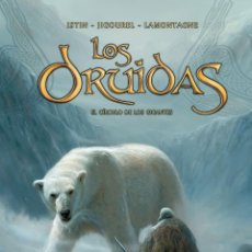 Comics : LOS DRUIDAS: 3 INTEGRALES TAPA DURA. YERMO EDITORIAL. Lote 212760655
