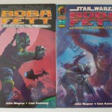 Cómics: STAR WARS BOBA FETT - CUANDO LA GORDA CUELGA + RECOMPENSA POR BAR-KOODA - NORMA - THE MANDALORIAN. Lote 212795347