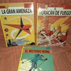Fumetti: LOTE LEFRANC 1 AL 3 NETCOM2 JACQUES MARTIN NUEVOS. Lote 212830295
