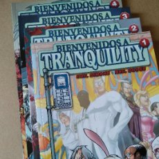 Fumetti: BIENVENIDOS A TRANQUILITY 1 A 4 (COMPLETA) RESERVADO (GAIL SIMONE / NEIL GOOGE). Lote 212965417