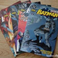 Fumetti: BATMAN - SILENCIO COMPLETA CINCO TOMOS Nº 1, 2, 3, 4 Y 5 JEPH LOEB Y JIM LEE - DC NORMA. Lote 212980702