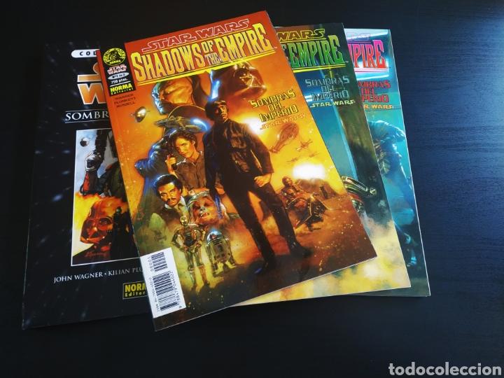EXCELENTE ESTADO STAR WARS SOMBRAS DEL IMPERIO COMPLETA SHADOWS OT THE EMPIRE NORMA (Tebeos y Comics - Norma - Otros)