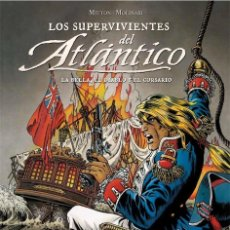 Comics : LOS SUPERVIVIENTES DEL ATLANTICO. 3 INTEGRALES. TAPA DURA . YERMO EDICIONES.. Lote 213065223