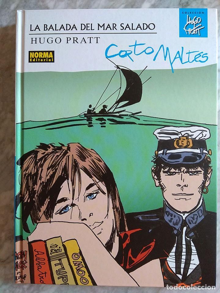 CORTO MALTÉS: LA BALADA DEL MAR SALADO (TAPA DURA, COLOR) NORMA EDICIÓN DE LUJO PRIMERA EDICIÓN NUEV (Tebeos y Comics - Norma - Comic Europeo)