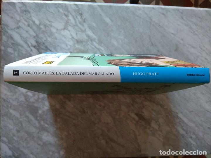 Cómics: Corto Maltés: La balada del mar salado (tapa dura, color) Norma edición de lujo Primera edición nuev - Foto 2 - 213195418