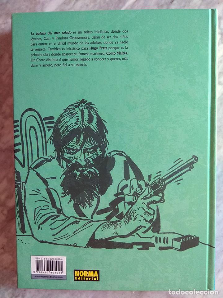 Cómics: Corto Maltés: La balada del mar salado (tapa dura, color) Norma edición de lujo Primera edición nuev - Foto 3 - 213195418