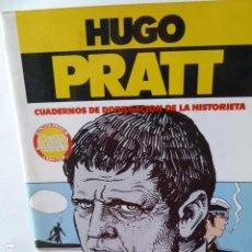 Cómics: HUGO PRATT-UN HOMBRE MIL IMAGENES CONTIENE POSTER. Lote 213221141